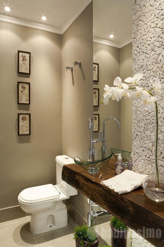 ideas para decorar baños Ideas Para Decorar Tu Bano De Visitas Pequeno Ideas Para